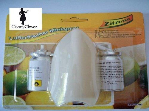 Lufterfrischer mit 2 Patronen mit Zitronenfrische im 2er Pack !