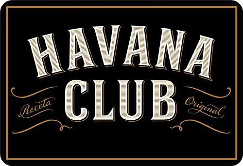 Blechschild Havana Club
