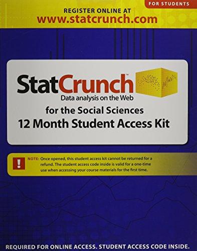 StatCrunch -- Standalone Access Card (12-month access)