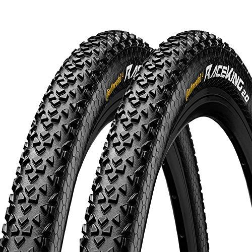 LHYAN Bicycle Tire 27.5' x 2.0' Bike Tire Black Mountain Pattern Tread
