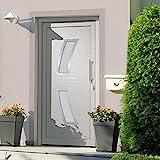 VIENDADPOW Türen Haustür Weiß 98x200 cm