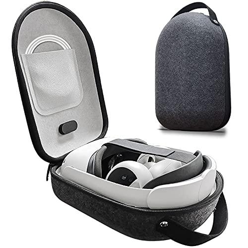 Goldmiky Tasche für Oculus Quest 2,Storage Case für Oculus Quest 2,Virtual Reality Tasche,VR Gaming Headset Gamepad Fernbedienung Reisetasche,Tragetasche für Oculus Go/Quest/Quest 2c