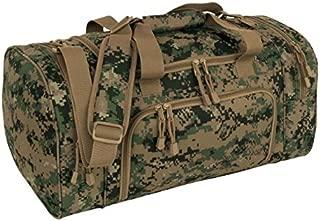 Code Alpha Tactical Gear Locker Bag, Marpat Woodland Digital Camouflage, 21in.x11 1/4in.x21