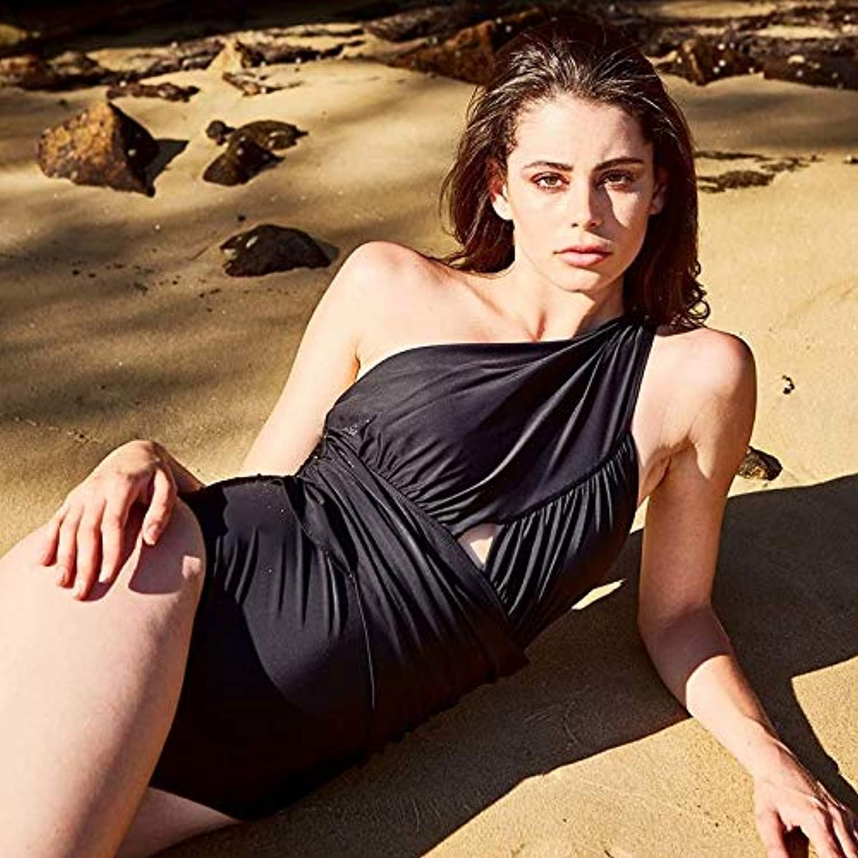 GUOQUNUP Strandrock Eine Schulter Bademode Frauen Neue Neue Neue   Badeanzug Beachwear Baden Weibliche Femme S Cn18041D1 B07Q85733F  Ausgezeichneter Wert 2207b0