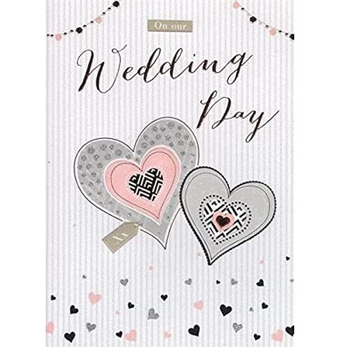 On Our Wedding Day Wedding Card