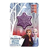 Disney Frozen 2 Anna & Elsa Raspberry Flavored Lip Gloss Compact Stocking Stuffer Party Favor Gift