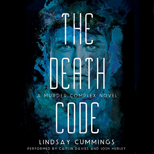 The Death Code audiobook cover art