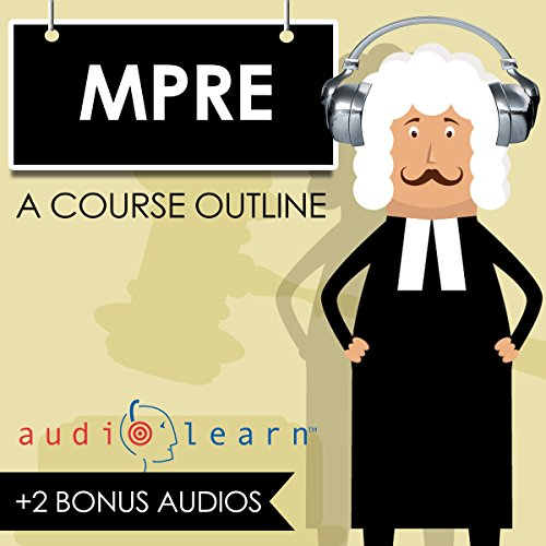 MPRE AudioLearn audiobook cover art