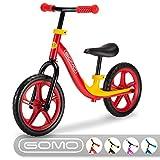 GOMO Balance Bike - Toddler Training Bike for 18 Months, 2, 3, 4