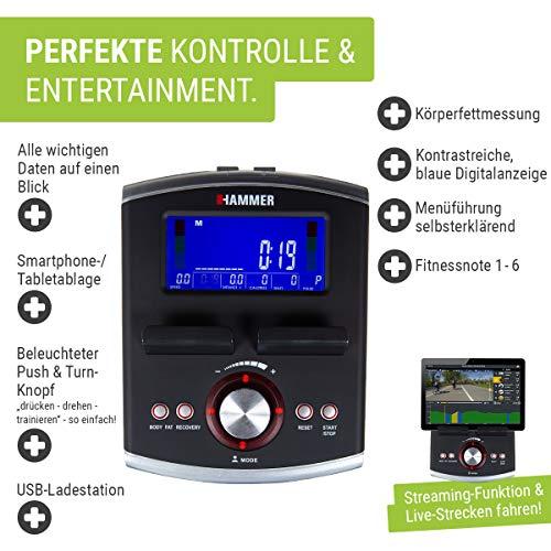 HAMMER Premium Ergometer Heimtrainer Bild 3*