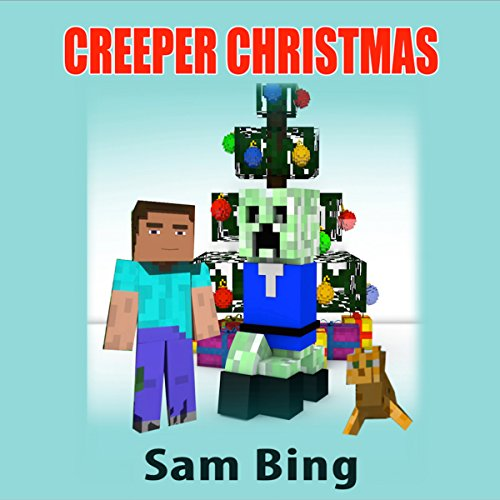 Creeper Christmas audiobook cover art