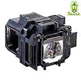 Angrox V13h010l88 Lamp Bulb for Epson ELPLP88 Powerlite Home Cinema 1040 2040...