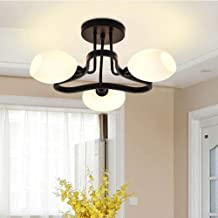Chandeliers Magical Lights Chandelier American Country Ceiling Aisle Entrance Study Dressing Room Balcony Iron Lamps 40CM...