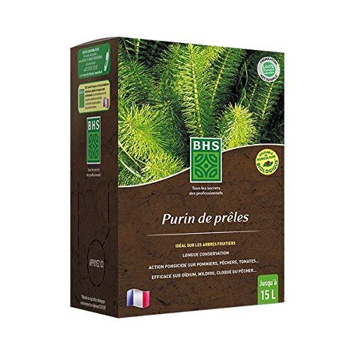BHS PPRE2 Purin 2,5 L | Soit 25 L | Liquide | Préparation Naturelle Traditionnelle Issue De La Décoction De Prêles Récoltées, Fabriqué en France