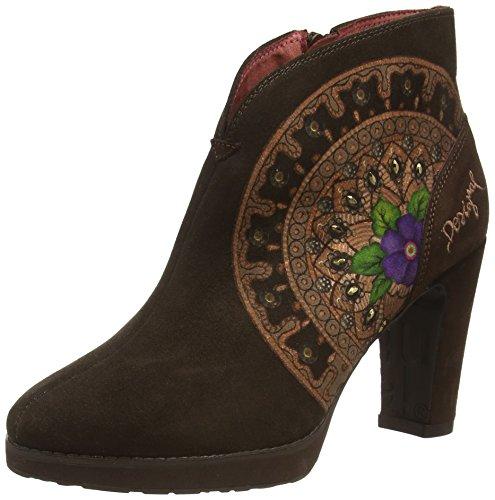 Desigual Shoes EVA 2, Bottes Chelsea Courtes, Non doublées Femmes - Marron - Braun (6070 Java), Taille 40 EU