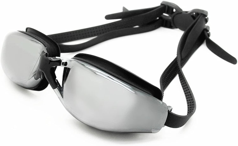 YFx Swim Goggles、作成水泳ゴーグルAnti Fog UV保護トライアスロンSwim Goggles with Free保護ケースfor大人用メンズレディースand Youth