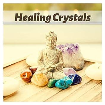 Healing Crystals - Relaxing Healing Music, Soothing Tibetan Singing Bowls, Nature Sounds  for Yoga, Meditation, Zen, Aura Cleansing