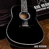 Johnny Cash Signature Black Miniature Acoustic Guitar Replica Collectible