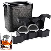 ROTTAY Whiskey Ice ball Crystal Clear Ice Ball Mold Maker (Ball)