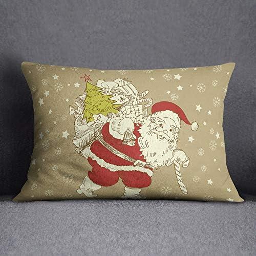 Bonamiason Decoratieve kussenslopen 35X50 Cm Kussenhoezen Bank Decoratieve Kussenhoesjes Kussensloop Sierkussen KerstmisOntworpen en geproduceerd in Turkije