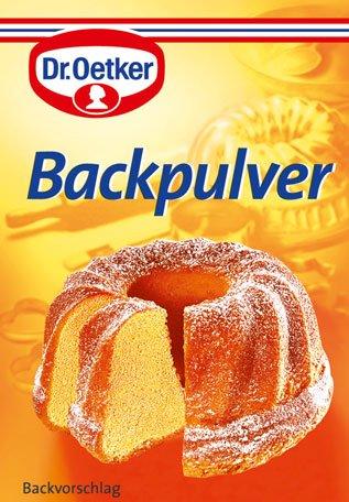 Dr. Oetker Backpulver, 3er Packung - 3St. - 6x