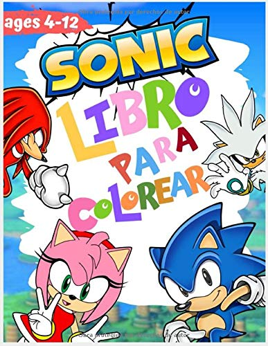 sonic libro para colorear: con imágenes de alta calidad ( unofficial )