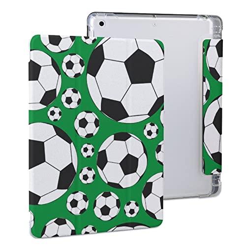 Patrón De Fútbol Balones De Fútbol Deporte Funda Protectora para Tableta iPad iPad 2020 Air 4 (10.9in)