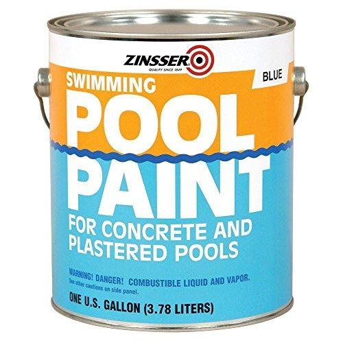 1-gal. Flat Oil-Base Blue Swimming Pool Paint (4-Pack)