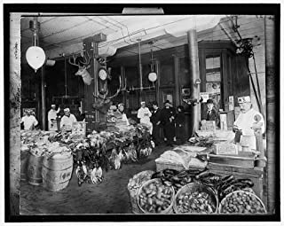 Photo: FM Smith & Company game,butcher shop,fish,cash register,Chicago,Illinois,IL,1895