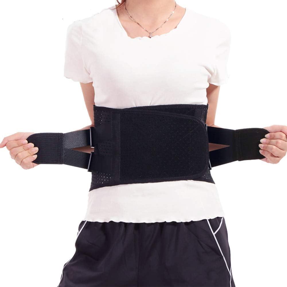 TANGIST Lumbar Lower Back Brace Str High quality Support Belt Adjustable Dual discount