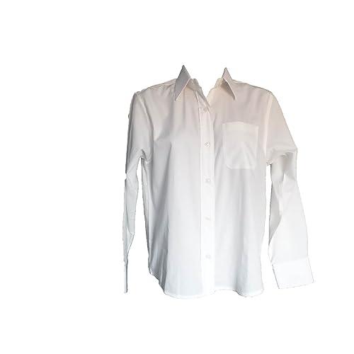 Girls//teens 2pk Debenhams white long sleeve School Blouse age 16yrs