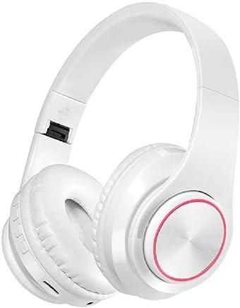 ALMD Cuffie luminescenti con Cuffie mobili Bluetooth Wireless, Cuffie Pieghevoli per Cuffie Stereo, telefoni cellulari da Corsa, Cuffie Bluetooth - Bianco - Trova i prezzi più bassi