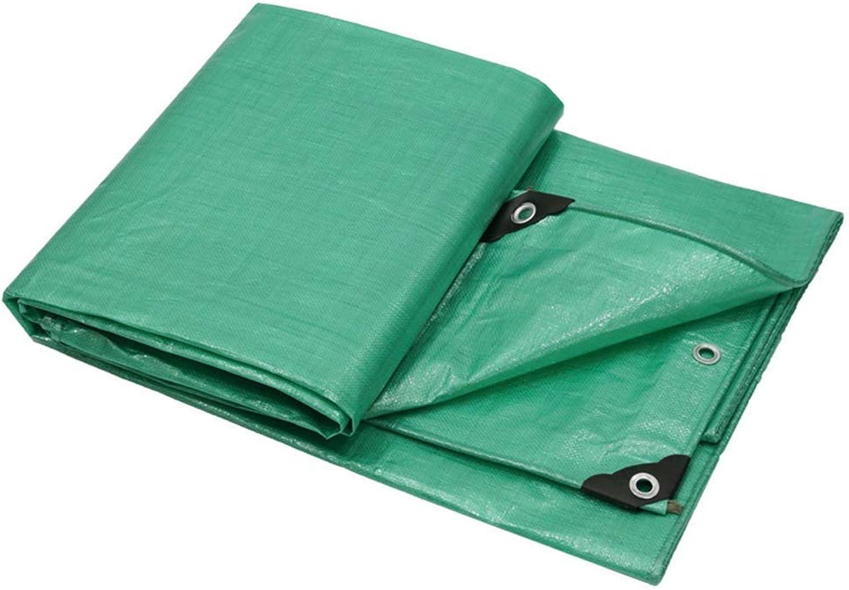 ATR Tarpaulin Waterproof, Green Plane Sheet Rainproof Sunscreen Canvas Canopy, Cover Cloth for Outdoor Camping 160g   m \\ u0026 sup2;