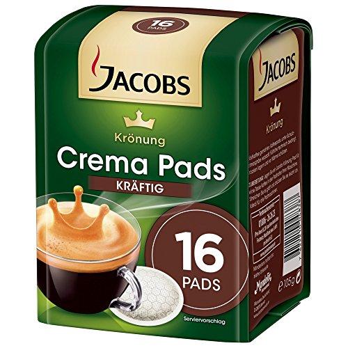 Jacobs Kroenung Crema Pads kräftig 16 Stück Kaffeepad 105g