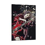 yizhuang Póster de lienzo con diseño de guitarrista angus, diseño moderno de Angus Young