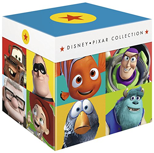Disney Pixar Collection - 17-Disc Box Set ( Toy Story / A Bug's Life / Toy Story 2 / Monsters, Inc. / Finding Nemo / The Incredibles / Cars / Ratatouille / WALLE / Up / Toy Story [ Blu-Ray, Reg.A/B/C Import - United Kingdom ]