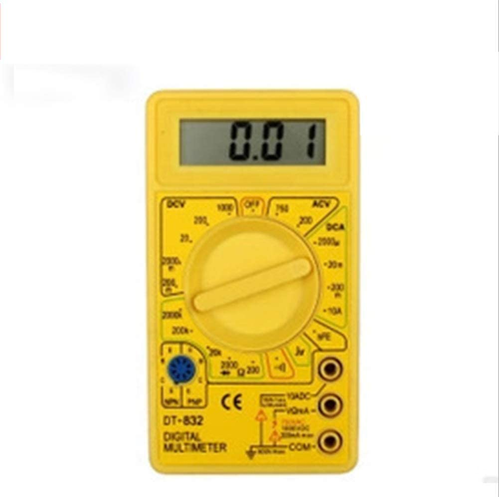Year-end gift YELLAYBY Intelligent discount Digital Voltage Display Multimeter