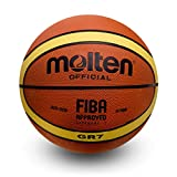 Molten Basketball BGR7 Official Size 7 FIBA Approved 2015-2019, Approved. (7)