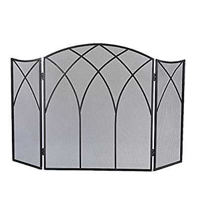 Pleasant Hearth Gothic Fireplace Screen from Pleasant Hearth