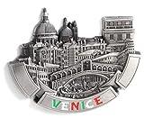 VENECIA - - Imanes de nevera decorativos, fabricados con metal, Venice Fridge Magnet