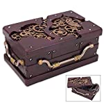 K EXCLUSIVE Rectangle Steampunk Trinket Box 6