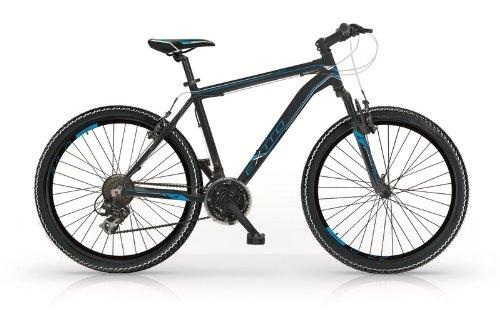 Bicicletta MTB 26' alluminio EXTRO 21V nera e blu MBM
