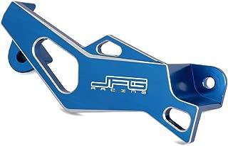 JFG RACING CNC Blue Billet Rear Brake Caliper Guard Cover Protection For Yamaha WR250F WR450F YZ125 YZ250 YZ250F YZ450F 2006-2017 WR250R WR250X Motorcycle