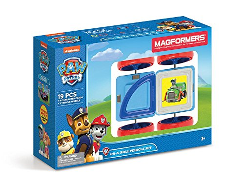 Magformers 66005 Building Kit, Paw Patrol Colors
