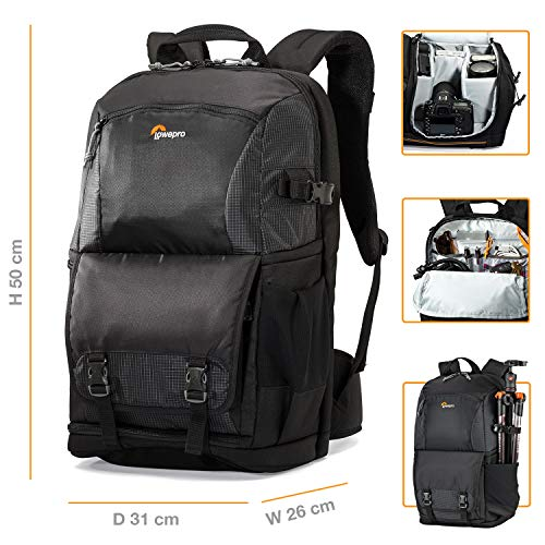 Lowepro Fastpack BP 250 AW II - A Travel-Ready Backpack for DSLR and 15' Laptop and...