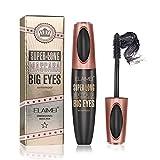 4D Silk Fiber Lash Mascara Waterproof, Luxuriously Longer, Thicker, Voluminous Eyelashes, Natural, Long-Lasting, All Day Exquisitely Long, Full, Long, Thick, Smudge-Proof Eyelashes