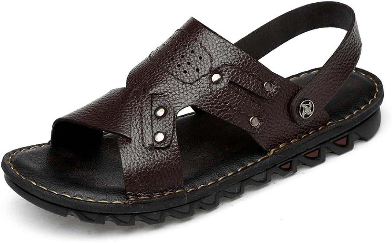 Men's Outdoor Sandals Fashion Leisure Beach shoes Non-Slip Wear Resistant Two wear Sandals