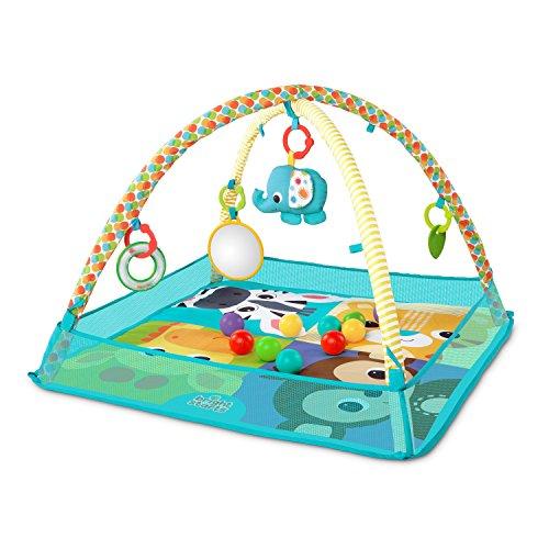 Bright Starts, Spieldecke mit Spielbogen und Bällebad