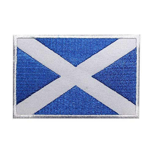 Parche bordado bandera nacional Escocia Real Imperio