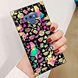 DISNEY COLLECTION Phone case Compatible with Samsung Galaxy Note 9 Alice in Wonderland Iphoneandroid Wallpaper Reinforced Edges Shine Fashion Luxury Cool Cute Cartoon Bumper Shock Absorption Cover